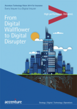 Accenture Technology Voice 2014: From Digital Wallflower to Digital Disrupter