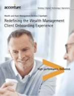 Redefining the Wealth Management Client Onboarding Experience