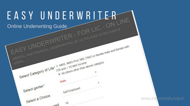 easy underwriter online calculator financial medical medical