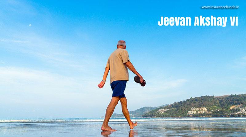 Jeevan Akshay VI pension plan lic