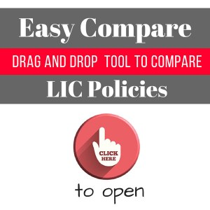 Easy compare - compare lic policies