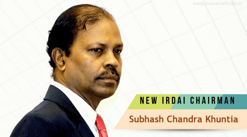 Subhash Chandra Khuntia - New IRDAI Chairman
