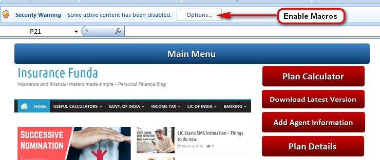 LIC Plan Presentation software free download