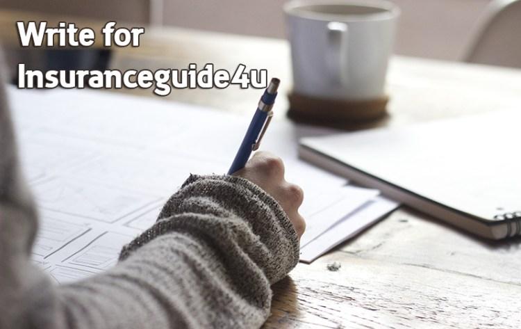 Write for us - insurance