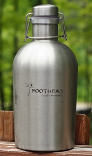 Boothbay Craft Brewery Growler