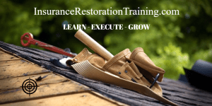 insurance restoration training tools