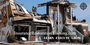 insurance restoration training fire