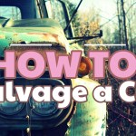 how to salvage a car
