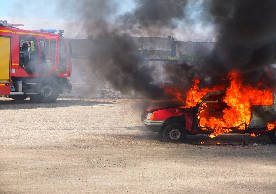 Auto Insurance and Fires
