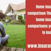 Home insurance comparison The best of the home insurance comparisons you will need to know