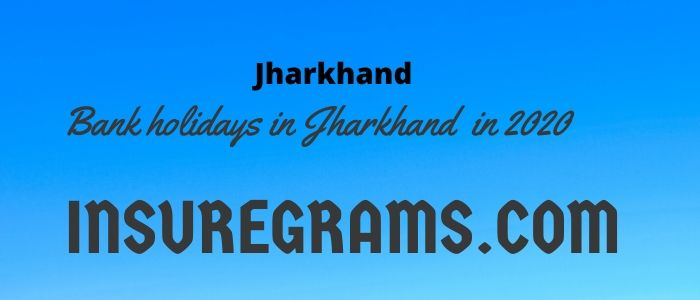 Bank holidays in jharkhand