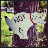 Best no poop dog sign ever.