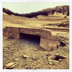 Normally submerged bridge at Peninsula campground, road from Mormon Island to Rattlesnake Bar