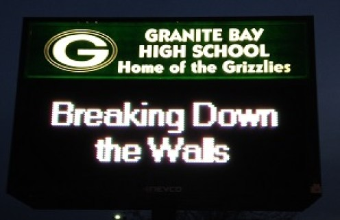 Breaking down walls and building acceptance in Granite Bay