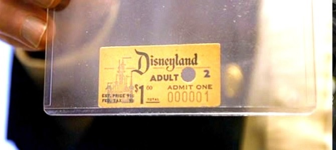 "Disneyland- The ""first"" family theme park."