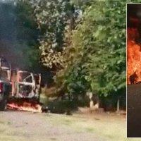 Matan sicarios a 14 policías durante emboscada en Aguililla, Michoacán