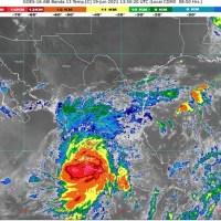 Golpea Tormenta Tropical 'Dolores' regiones de Guerrero, Michoacán, Colima y Nayarit