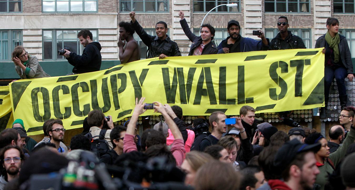 Resultado de imagen para occupy wall street movement
