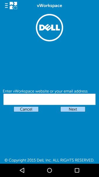 workspace app get started screenshot