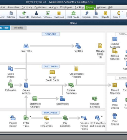 Configuring Quickbooks to Send Emails | Insynq Cloud Hosting