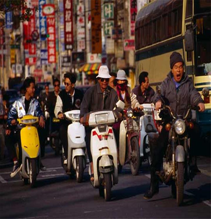 Скуторы в Тайбее — это удобно, но для некоторых слишком долго