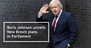 Boris Johnson Unveils New Brexit Plans In Parliament