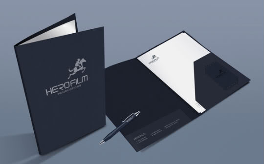 Mẫu in folder hcm