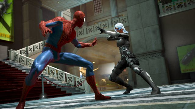 Amazing spider man 2 game play image
