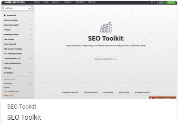 SEMrush comes in the top SEO tool, which is being used day by day. Because this tool can be a boon for your website.