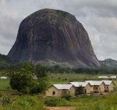 Zuma Rock, located near Abuja