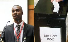 Is politics for young people? Kenny holds a ballot
