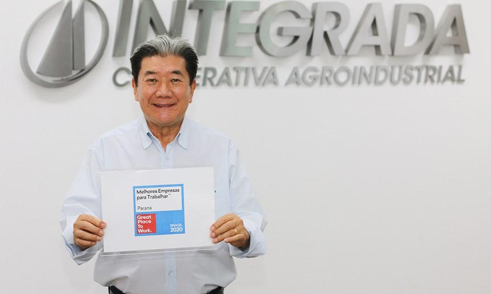 Integrada conquista certificado GPTW