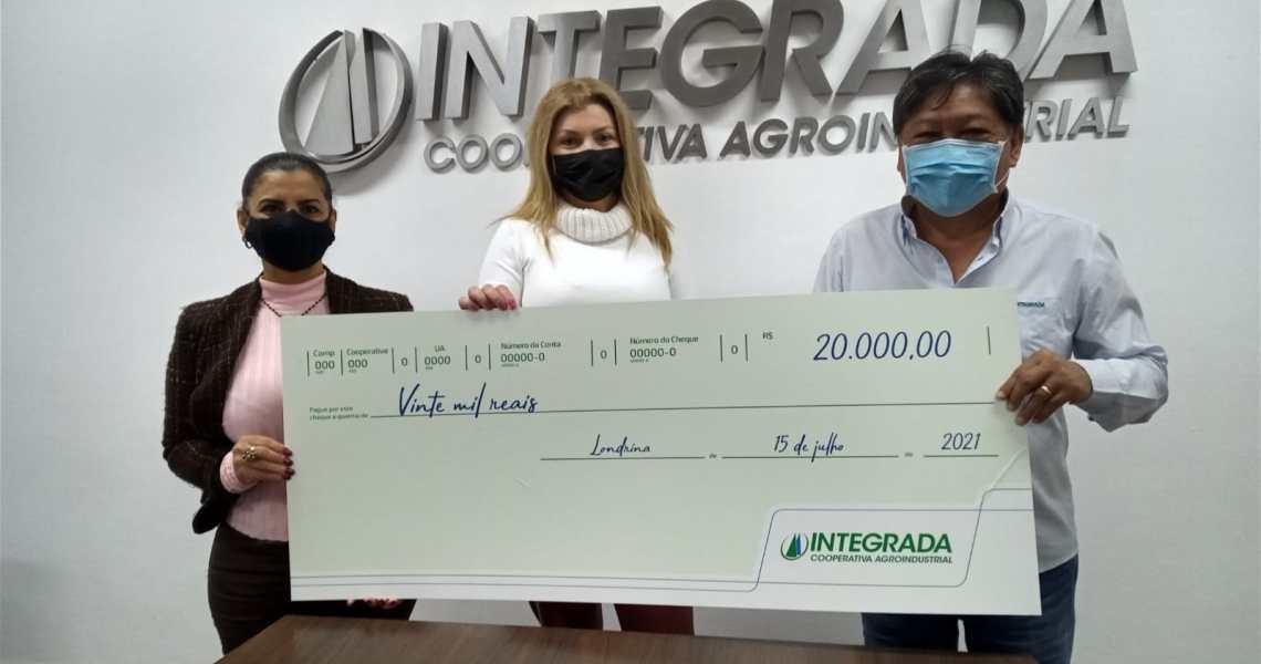 Solidariedade: HU recebe doação da Integrada