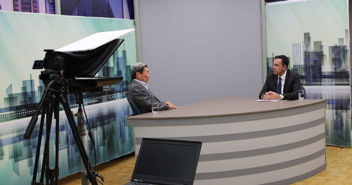 Rede CNT entrevista Jorge Hashimoto