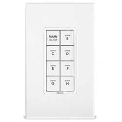 Insteon Dual Band Keypad Dimmer 8 Button