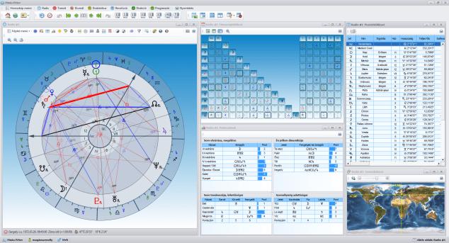 AstroSky - képletek, táblázatok