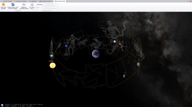 AstroSky 3D-s ábrája