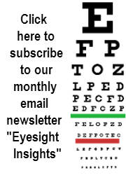 eyesight insight vision bates method yoga email newsletter asheville