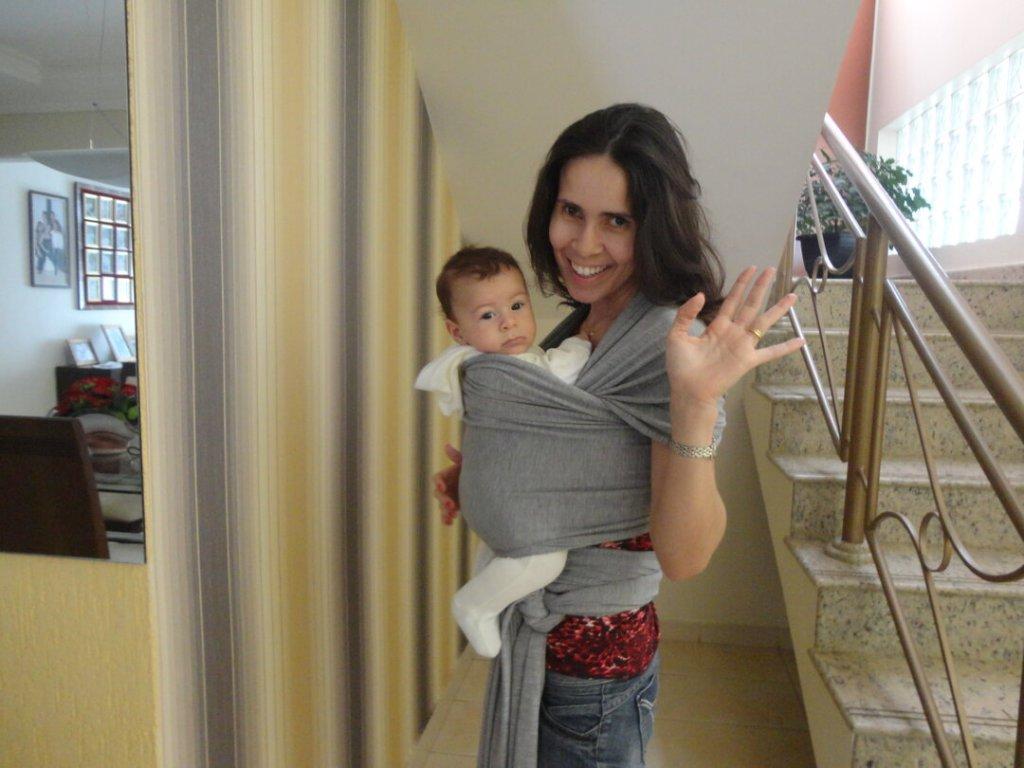 Acessório indispensável no enxoval de bebê : sling