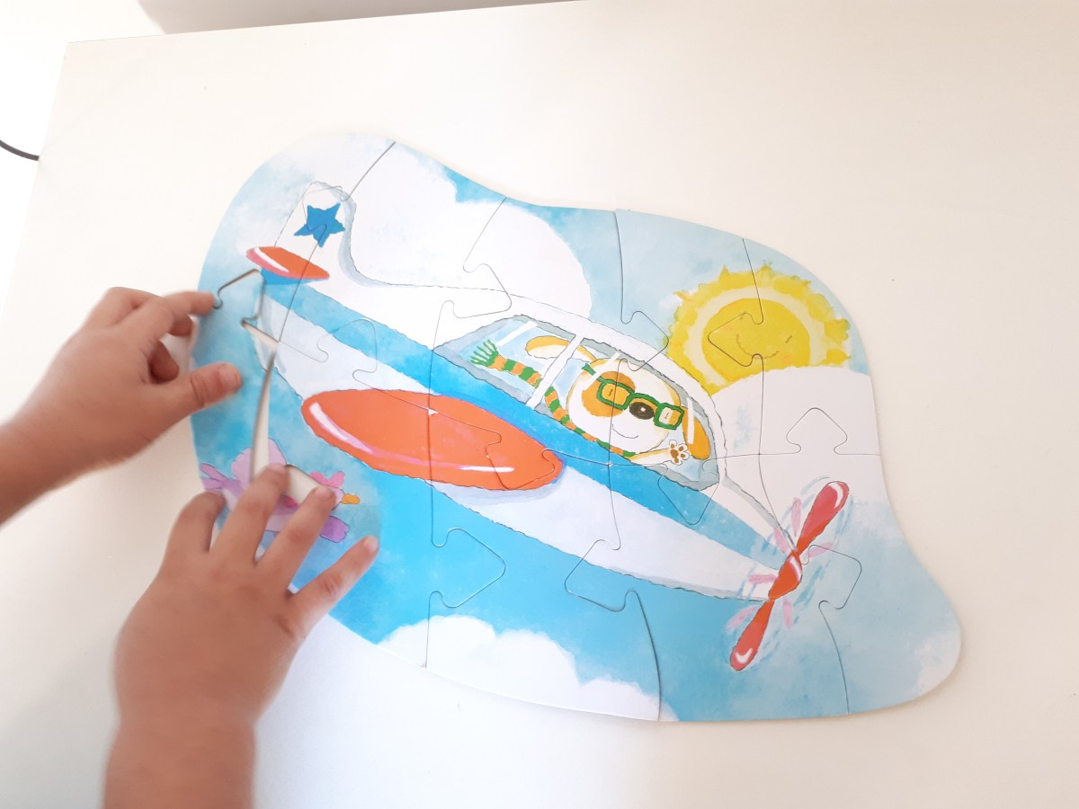O que fazer nas férias escolares em casa - quebra-cabeças