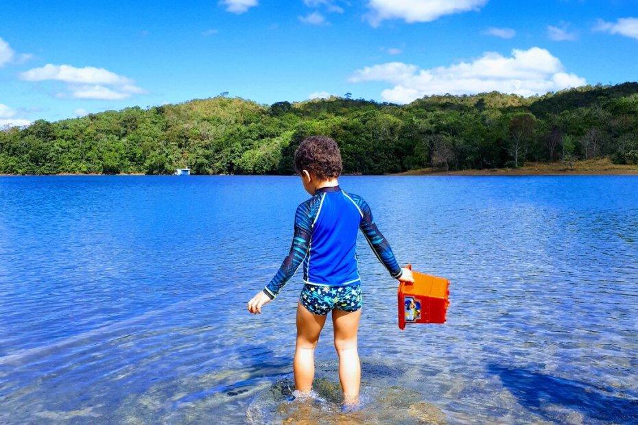 Passeio no lago corumbá IV - rio azul
