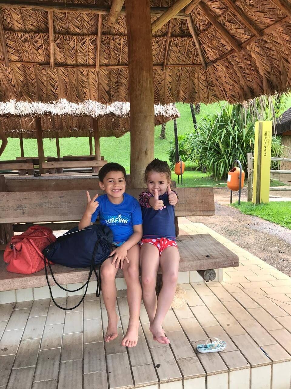 Pose pra foto em Rio Quente Resorts