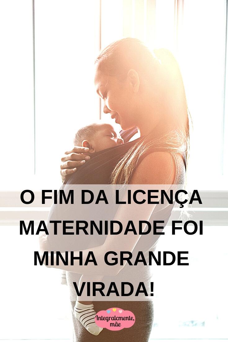 O FIM DA LICENÇA MATERNIDADE TROUXE GRANDES OPORTUNIDADES. (1)