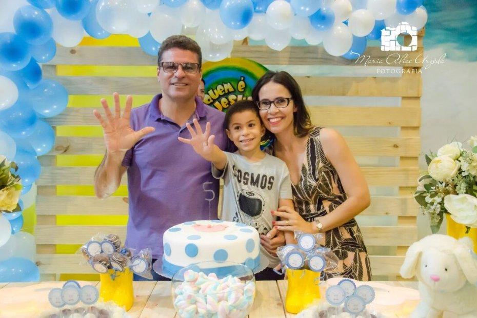Como decorar uma festa infantil - estevao faz 5
