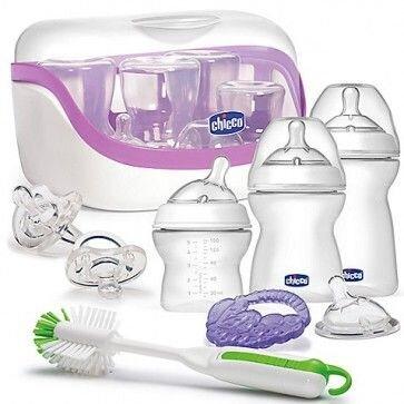 Kit mamadeiras CHICCO – produtos importados para bebês