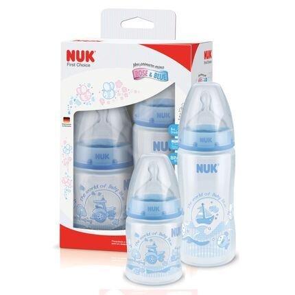 Kit mamadeiras NUK – produtos importados para bebês