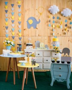ideias para chá de bebê - 60 Ideias de Decoração para Chá de Bebê Simples e Criativas _ Revista Artesanato
