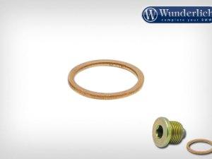 Alrandela-junta de cobre 18 mm para tapón de aceite