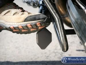 Ampliación para base de pata lateral, especial para suspensión baja