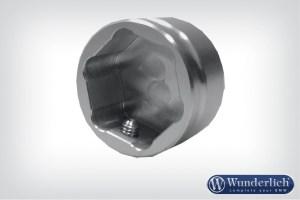 Tapa de aluminio para articulación telelever